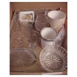 Miscellaneous Crystal Pitcher Lot