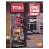 NEW - Toro Electric Sweep Blower