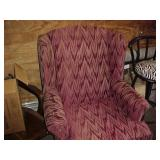Over- Stuffed Chair