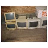 Five Older Computer Monitors