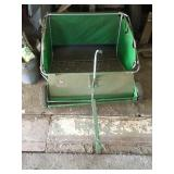 John Deere lawn cart