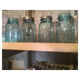 blue ball jars