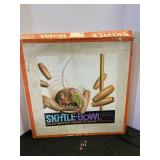 Vintage Skittle Bowl Game
