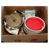 Box of Bakeware & Misc