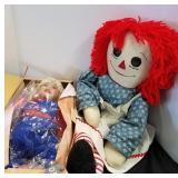 Raggedy Ann & Olympic Dreams & Treasures Dolls