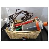 Basket of Tools & Misc