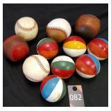 Wood & Leather Balls