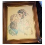 Framed Jesus Picture