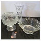 Vase & Bowls