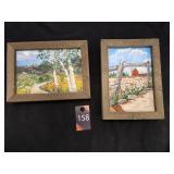 Wood Framed Paintings