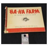 Vintage HaHa Farm Book missing Cover