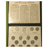 20th century nickel set