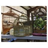 bird cages galore