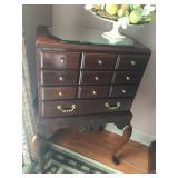 Thomasville 4 drawer wooden chest