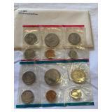 1979 U.S Mint P7D uncirc set