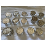 Various morgan dollars