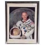 Buzz Aldrin Autographed Photo