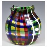 Eros Raffael Murano Art Glass Vase
