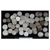 Group of American Silver Dollars