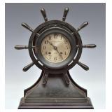 Chelsea Bronze Mantel Clock