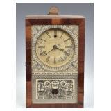 New England Clock Co. Box Clock