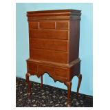 Paint Decorated Highboy