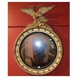 Centennial Gilt Convex Mirror