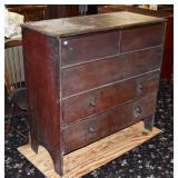 Queen Anne Stained Blanket Box