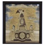 American Embroidered Memorial