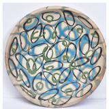 Modernist Art Pottery Plate
