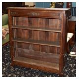 French Provincial Oak Bookcase