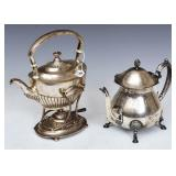 Sterling Silver Teapot and Hot Water Server