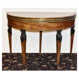French Egyptian Revival Game Table