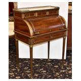 French Style Cylinder Roll Desk