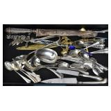 Group of Misc Sterling Silver Flatware