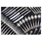 Reed & Barton Sterling Silver Partial Flatware Set