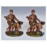 Pair Of Hubley Cast Iron Bookends
