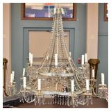 Painted Tole Chandelier