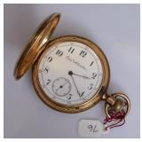 14k Gold Elgin Pocket Watch