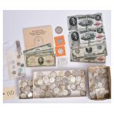 Collection of American Coins and Currency