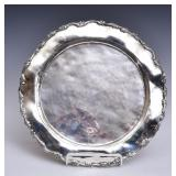 Mexican Hammered Sterling Silver Tray