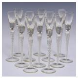 Set of Air Twist Cordials Glasses (12)