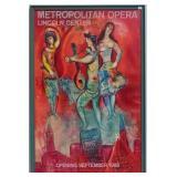 Marc Chagall Metropolitan Opera Poster