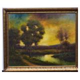 manner of George Inness
