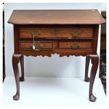 George III Provincial Oak Dressing Table