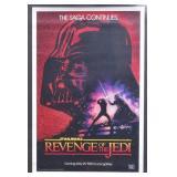 "Star Wars ""Revenge of the Jedi"" Movie Poster"