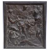 Bronze Relief Plaque