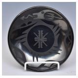 San Ildefonso Blackware Plate