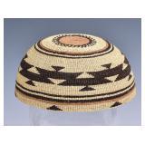 Hupa Native American Basketry Hat