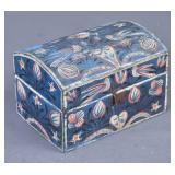 French Folk Art Painted Box